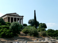Temple of Hephaistos and Agora