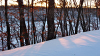 Fresh Deep Snow-West Bank of Mississippi River